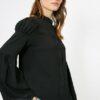 Koton Kadın Siyah Gömlek 0KAK63725EW