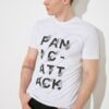 TRENDYOL MAN Beyaz Erkek Regular Fit Baskılı Kısa Kollu T-Shirt TMNSS21TS2833