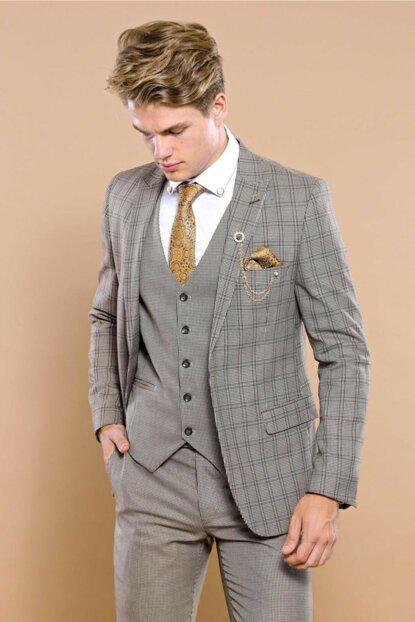Wessi Erkek Yelekli Takım Elbise