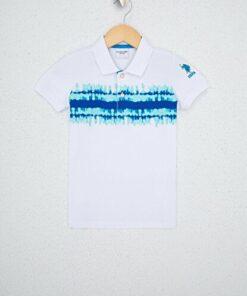 US Polo Assn Beyaz Erkek Çocuk T-Shirt