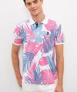 US Polo Assn Pembe Erkek T-Shirt